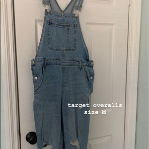 light wash denim overalls!